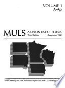MULS, a Union List of Serials