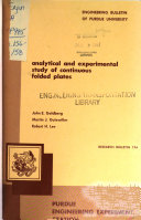 Research Series   Engineering Experiment Station Book