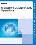 Microsoft SQL Server 2000 Operations