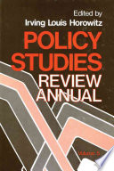 Policy Studies Review Annual