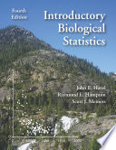 Introductory Biological Statistics Book