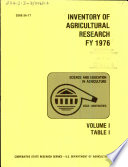 Inventory of agricultural research