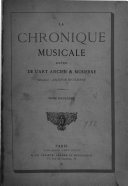 La chronique musicale