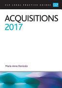 Acquisitions 2017