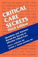 Critical Care Secrets