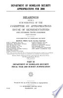 Department of Homeland Security Appropriations for 2008