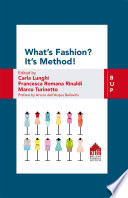 What s Fashion  It s Method  Book