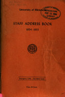 The Staff Address Book