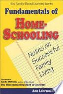 Fundamentals of Home-schooling