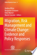 Migration  Risk Management and Climate Change  Evidence and Policy Responses Book