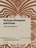 On Loos  Ornament and Crime
