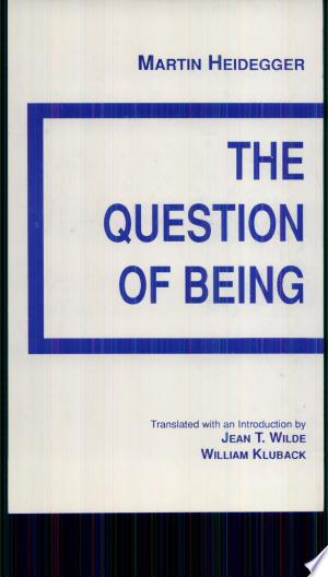 Free Download The Question of Being PDF - Writers Club