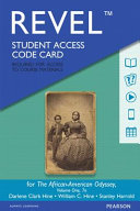 Revel for the African American Odyssey  Volume 1    Access Card