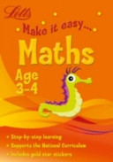 Letts Make It Easy - Maths Age 3-4