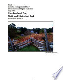 Cumberland Gap National Historical Park  General Management Plan