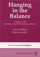 Hanging in the Balance Pdf