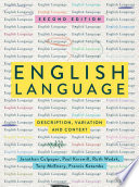 """English Language: Description, Variation and Context"" by Jonathan Culpeper, Paul Kerswill, Ruth Wodak, Anthony McEnery, Francis Katamba"