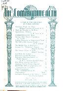 The Commonwealth  the Magazine of Democracy