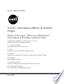 NASA S Atmospheric Effects Of Aviation Project Results Of The August 1999 Aerosol Measurement Intercomparison Workshop  Laboratory Phase 1