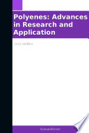 Polyenes: Advances in Research and Application: 2011 Edition