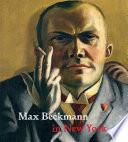 Max Beckmann in New York