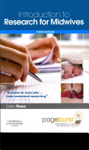Introduction to Research for Midwives,with Pageburst online access,3