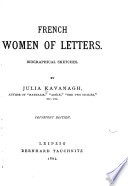 French Women of Letters