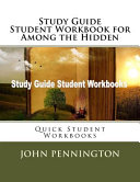 Study Guide Student Workbook for Among the Hidden