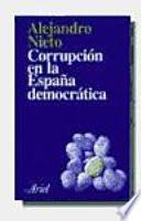 Corrupción en la España democrática