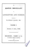 Boston Miscellany Book