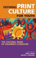 Defining Print Culture for Youth