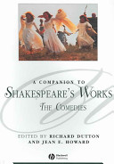 A Companion to Shakespeare s Works  The Comedies