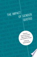 """""""The Impact of Gender Quotas"""" by Susan Franceschet, Mona Lena Krook, Jennifer M. Piscopo, Drude Dahlerup"""