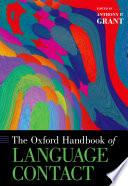 The Oxford Handbook Of Language Contact