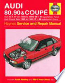 Audi 80, 90 and Coupe Owner's Workshop Manual
