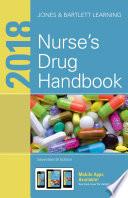 """""""2018 Nurse's Drug Handbook"""" by Jones & Bartlett Learning"""