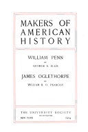 Makers Of American History William Penn