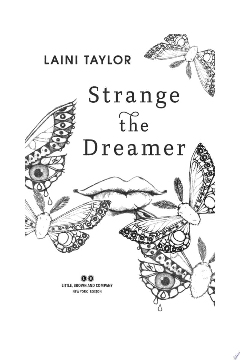 Strange the Dreamer image