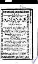 The New England Almanack For The Year Of Our Lord Christ Mdcxcv