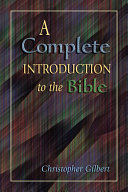 Pdf Complete Introduction to the Bible, A