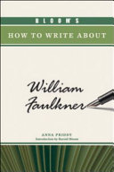 Bloom's How to Write about William Faulkner ebook