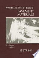 Properties of Flexible Pavement Materials