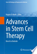 Advances In Stem Cell Therapy Book PDF