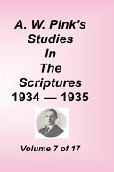 A  W  Pink s Studies in the Scriptures