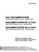 Documentation de la FAO