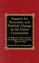 Support for Economic and Political Change in the China Countryside