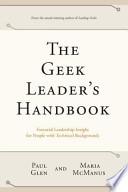 The Geek Leader's Handbook