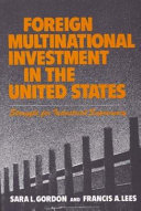 Foreign Multinational Investment in the United States