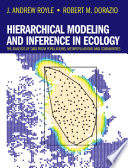 Hierarchical Modeling and Inference in Ecology Book