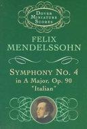 Symphony no  4 in A major  op  90